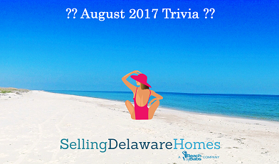Monthly Trivia Answers For BeachByBabs Real Estate Monthly E-Newsletter – August 2017