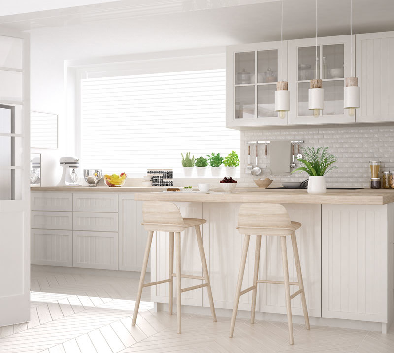How to Decorate Your Kitchen with White Hues