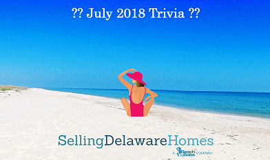 Monthly Trivia Answers – July 2018